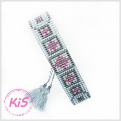 Bransoletka KiS BOHO LIGHT GREY
