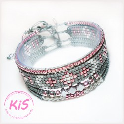 Zestaw KiS GREY AND ROSE SET